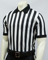 "1"" Stripes Smitty Mesh Short Sleeved Football Referee Shirt"