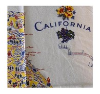 RWK California State Cotton Flour Sack Towel