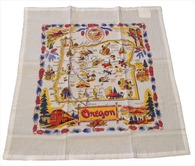RWK Oregon State Flour Sack Cotton Towel