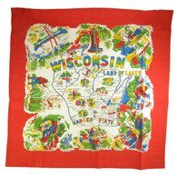 RWK Wisconsin State Flour Sack Cotton Towel