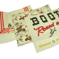 Moda Western Round up Theme Cotton Dish Towels, Set of 3