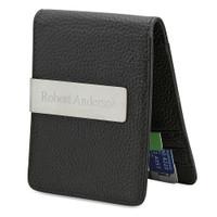 Personalized Men's Slim Money Clip / Wallet - Free Engraving