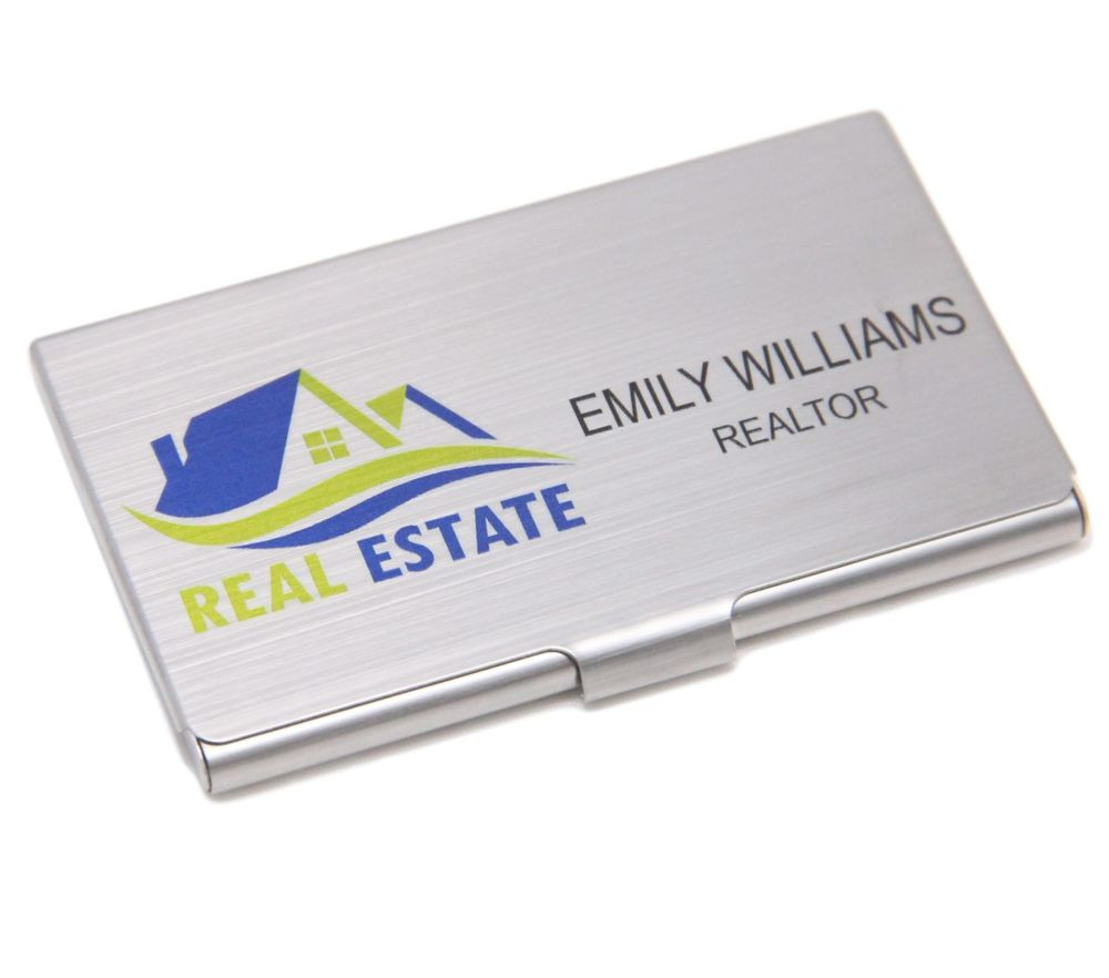 Personalized Full Color Stainless Steel Business Card