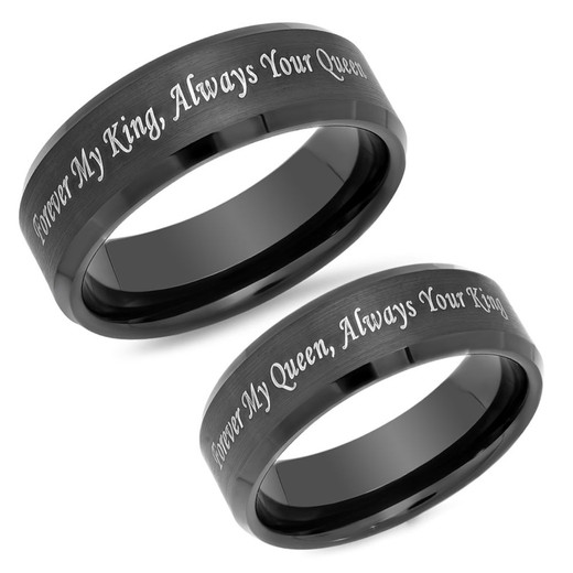 King and Queen Ring