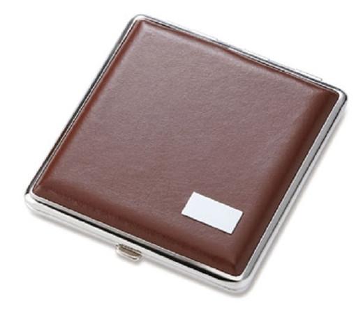 engraved cigarette case