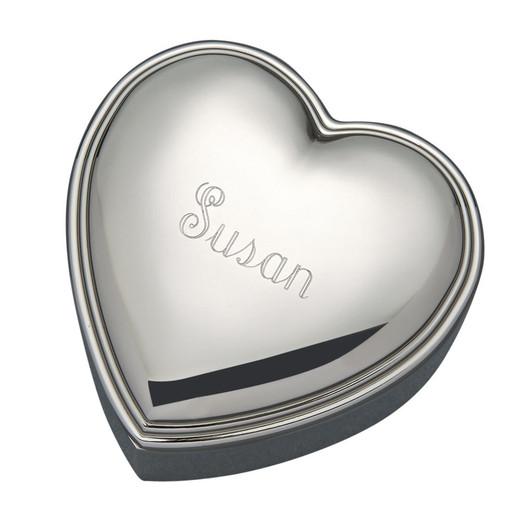 Engraved Jewelry Box