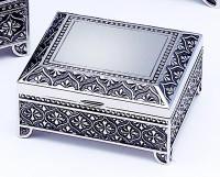 Personalized Small Square Jewelry box