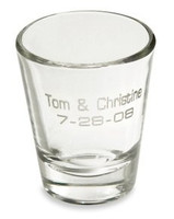 Engraved Shot Glass - Free Engraving