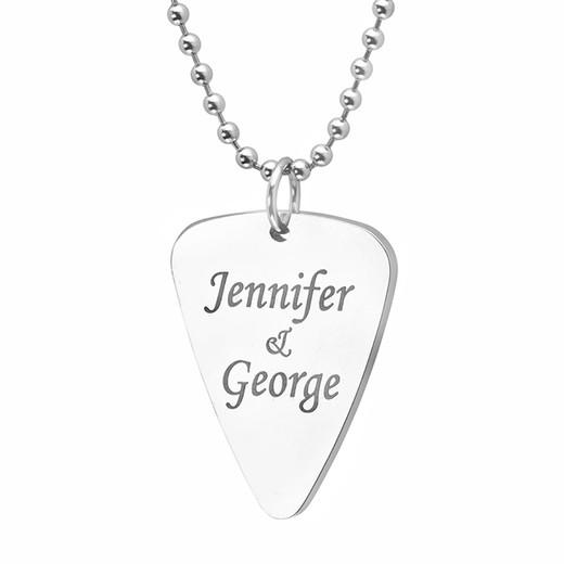Guitar pick pendant
