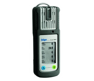 Drager X-am 5000 LEL/O2/CO/H2S NiMH Battery and Charger