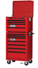 "Williams 26"" 4 Drawer Top Chest ONLY (Roll Cabinet NOT included), Red W26TC4"