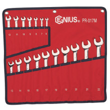 Genius Tools Metric Combination Wrench 17 Pc Set PR-017M