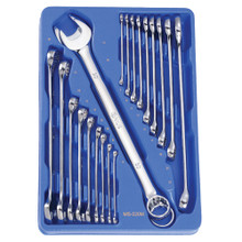 Genius Tools Metric Combination Wrench 20 Pc Set MS-020M
