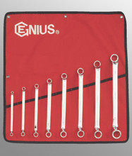 Genius Tools Metric Box End Wrench 8 Pc Set DE-708M
