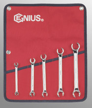 Genius Tools SAE Flare Nut Wrench 5 Pc Set FN-005S