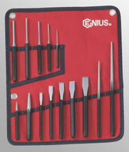 Genius Tools SAE Punch & Chisel 14 Pcs Set PC-514S