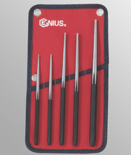 Genius Tools Long Taper Lin Up Punch 5 Pcs Set PC-565LU