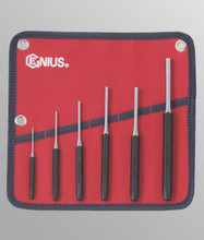 Genius Tools Metric Pin Punch 6 Pcs Set PC-566MP