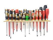 iTsUSApro 23 Screwdriver Organizer | Wall Mount Tool Holder | Made in USA