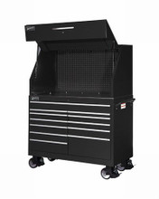 "Williams 54"" Wide X 24-1/2"" Deep Super Hvy Duty Roll Cab, Black (Canopy NOT included) 50885B"