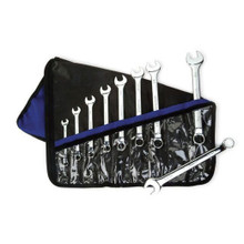 Williams Tools SAE High Polish Offset Combination Wrenches Set 9-Pcs 11990