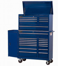 "Williams 1 Shelf 37"" Commercial Side Cabinet Blue 50855BL ( Top Chest & Roll cabinet NOT included)"