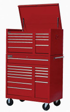 """Williams 42"""" 13-Drawer Commercial Roll Cabinet, Red 80898 (Top Chest NOT included)"""