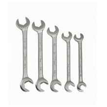 Williams Tools SAE 15å¡-60å¡ Double Open End Angle-Head Wrenches Set 5-Pcs 3780