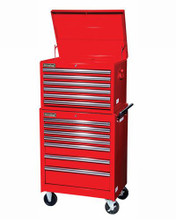 """Williams 5 Drawer Super Value Roll Cabinet 27"""" X 18"""" Red 50767 (Top Chest NOT Included)"""