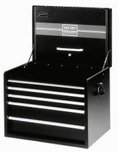 "Williams 5 Drawer 34"" Extra-Heavy Duty Roadbox Black 50947B"