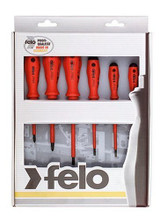 Felo Germany Tools 6 pc Slotted & Phillips Insulated Screwdriver Set 07157 50176