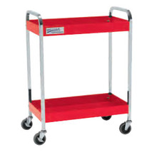 Williams  2 Shelves Service Cart Red 50722