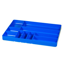 "Ernst Manufacturing Tools 11"" x 16"" 10 compartment Organizer Tray - Blue : 5012"