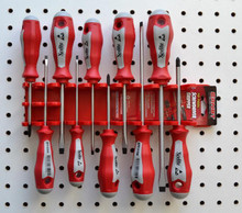 Ernst Organizer Holder - Screwdriver Gripper Holds 10 Screwdrivers USA 5310
