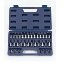 "Williams Tools SAE & Metric 1/4"" Drive Socket Set 32-Pcs 50681"