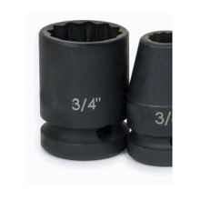 """Williams Tools SAE 1/2"""" Drive Shallow Impact 12 Point Sockets 19 Sizes Available ( From 3/8"""" to 1-1/2"""")"""