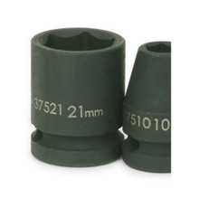 """Williams Tools Metric 1/2"""" Drive Shallow Impact 6 Point Sockets 23 Sizes Available ( From 10MM to 36MM)"""