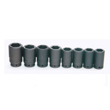 "Williams Tools USA SAE 3/4"" Drive Deep Impact 6 Point Sockets Set 8-Pcs WS-16-8H"