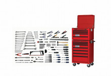Bahco & Williams 173 Piece Intermediate Maintenance Service Set W/ Tool Box WSC-173TB