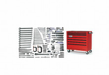 Williams 172 Piece Heavy Maintenance Service Set W/ Tool Box WSC-172TB