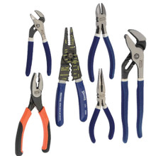 Williams & Bahco Tools General Service Pliers Set 6-Pcs PLS-6A