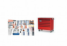 Bahco & Williams 167 Piece Electrical Maintenance Service Set W/ Tool Box WSC-167TB