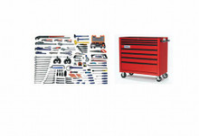 Bahco & Williams 137 Piece Industrial Plumbing & Pipefitting Tool Set WSC-137TB