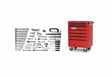 Bahco & Williams 88 Piece General Industrial Repair Set W/ Tool Box WSC-88TB