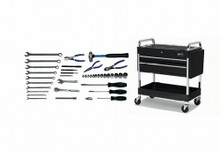 Williams 41 Piece Basic Service Set W/ Tool Box WSC-41TB