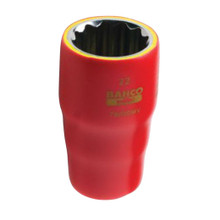 "Bahco Tools SAE 1000V 1/2"" Drive Sockets 15 Sizes Available"