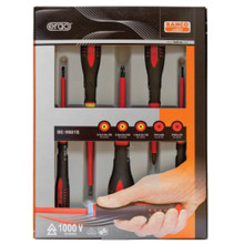 Bahco Tools Ergoå¨ 1000V Screwdriver 5-Pcs Set BE-9881S