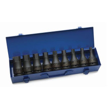 "Williams Tools SAE 3/4"" Drive Hex-Drive Impact Sockets Set 9-Pcs 38903"