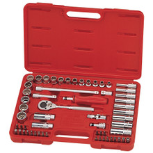 "Genius Tools Metric 3/8"" Drive Hand 12 Point Socket & Bits 59 Pc Set AC-359"
