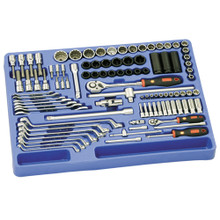 "Genius Tools Metric 1/4"" & 1/2"" Drive Master 6 & 12 Point Tool 98 Pc Set MS-098M"